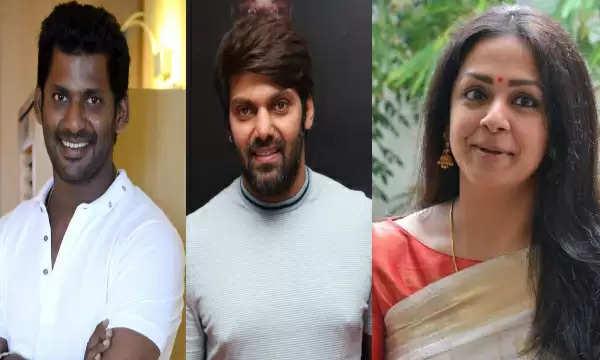 ஆர்யா, விஷால் மற்றும் ஜோதிகா