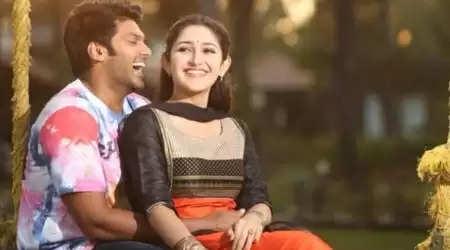 நடிகர் ஆர்யா மற்றும் சாயீஷா