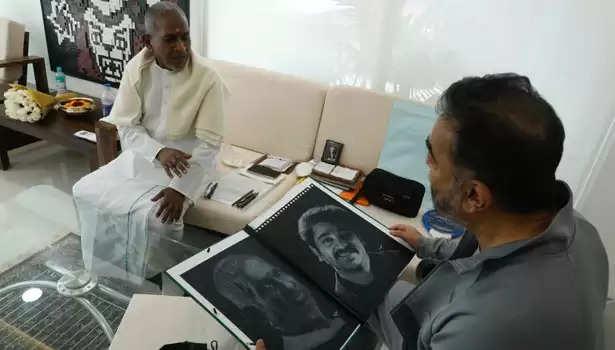 இளையராஜாவை சந்தித்த கமல்ஹாசன்