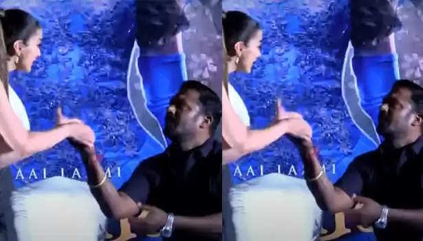 ராய் லட்சுமி மற்றும் ரோபோ சங்கர்